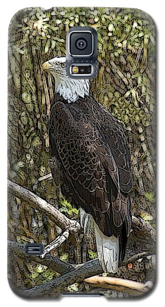 Eagle Galaxy S5 Case by Donald Williams