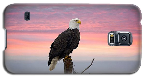 Eagle In The Mist Galaxy S5 Case by Sylvia Hart