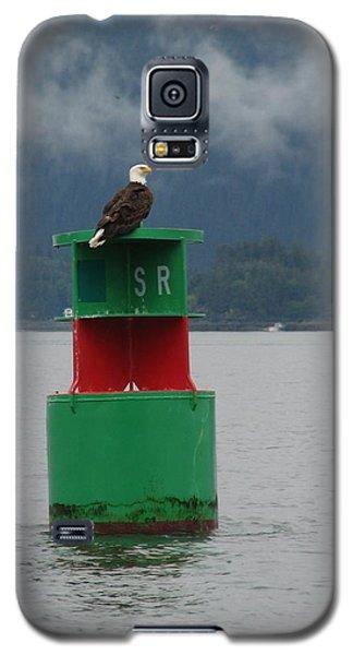 Eagle On Bouy Galaxy S5 Case