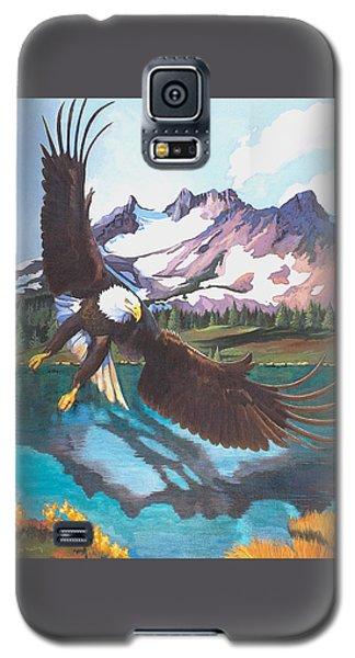 Eagle Oregon Lake Galaxy S5 Case