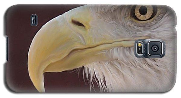 Eagle Portrait Freehand Galaxy S5 Case
