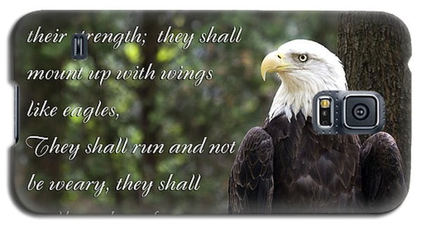 Eagle Scripture Isaiah Galaxy S5 Case
