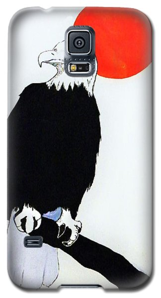 Eagle Sunrise Galaxy S5 Case