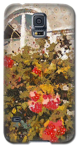 Galaxy S5 Case featuring the photograph Alameda Roses by Linda Weinstock