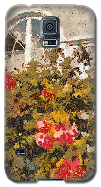 Alameda Roses Galaxy S5 Case by Linda Weinstock