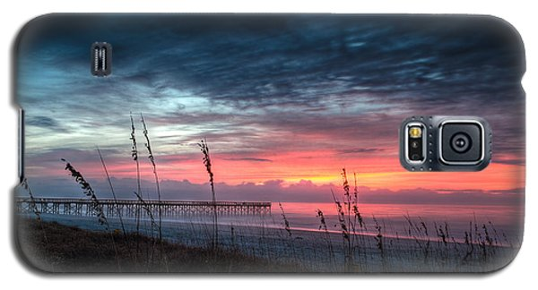 Early At The Beach Galaxy S5 Case