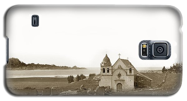 Early Carmel Mission And Point Lobos California Circa 1884 Galaxy S5 Case