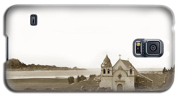 Early Carmel Mission And Point Lobos California Circa 1884 Galaxy S5 Case