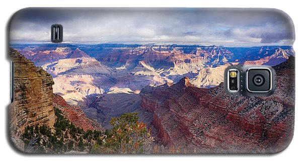 Early Clouds Over Hopi Point Galaxy S5 Case by Lisa  Spencer