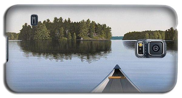 Early Evening Paddle Aka Paddle Muskoka Galaxy S5 Case