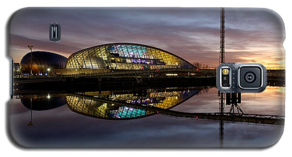 Early Evening Reflections Of The Science Centre Galaxy S5 Case