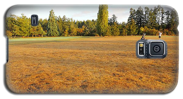 Early Fall Morning In The Rough On The Golf Course Galaxy S5 Case