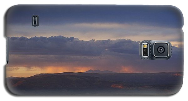 Early Monsoon Sunset Over San Francisco Peaks Galaxy S5 Case