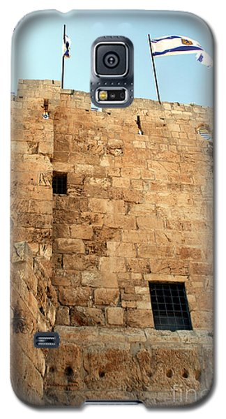 Galaxy S5 Case featuring the photograph Early Morning At The Jaffa Gate by Doc Braham
