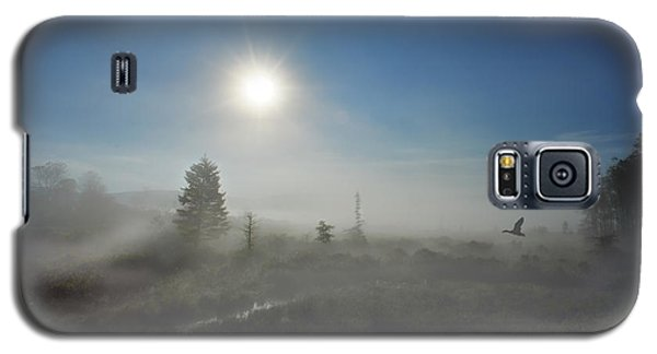Early Morning Fog At Canaan Valley Galaxy S5 Case