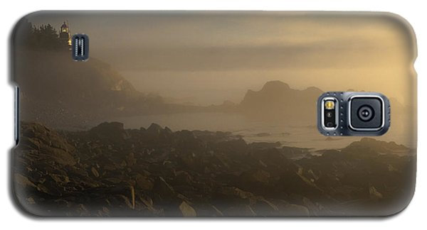 Early Morning Fog At Quoddy Galaxy S5 Case by Marty Saccone