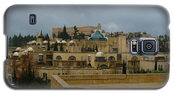 Galaxy S5 Case featuring the photograph Early Morning In Jerusalem by Doc Braham