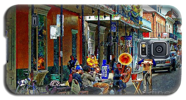 Early Morning Jazz In New Orleans Galaxy S5 Case