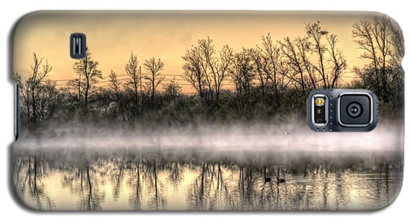 Galaxy S5 Case featuring the photograph Early Morning Mist by Lynn Geoffroy