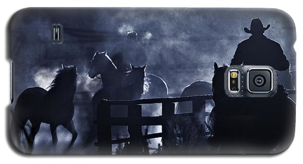 Galaxy S5 Case featuring the photograph Early Morning Smoke by Joan Davis