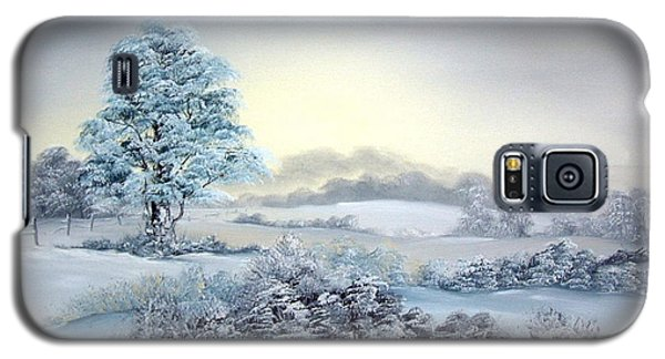 Early Morning Snows Galaxy S5 Case