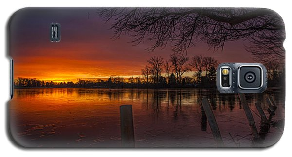 Galaxy S5 Case featuring the photograph Early Morning Sunrise by Nicholas  Grunas