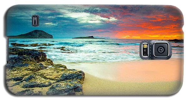 Galaxy S5 Case featuring the photograph Early Morning Sunrise by Robert  Aycock