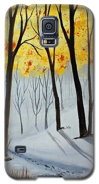 Early Snow Galaxy S5 Case by Jack G  Brauer