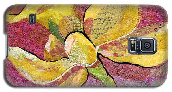 Orchid Galaxy S5 Case - Early Spring Iv Daffodil Series by Shadia Derbyshire
