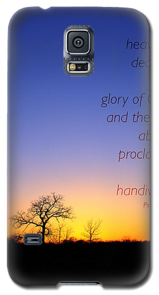 Galaxy S5 Case featuring the photograph Early Spring Oak Psalms 19 by Ed Cilley