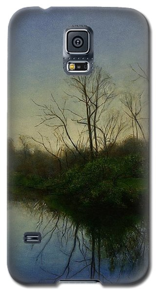 Galaxy S5 Case featuring the painting Early Spring by Wayne Daniels