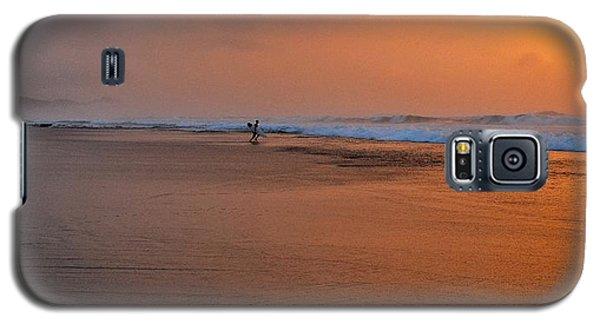 Dawn Sea Man Harmony Galaxy S5 Case