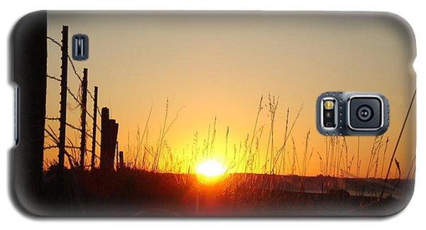 Early Sunrise In September Galaxy S5 Case by J L Zarek