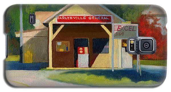Earlysville Virginia Old Service Station Nostalgia Galaxy S5 Case