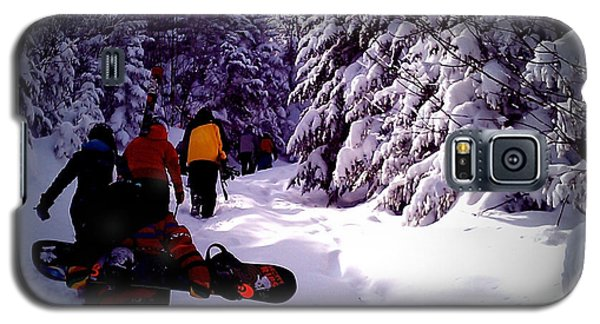 Galaxy S5 Case featuring the photograph Earning Turns by James Aiken