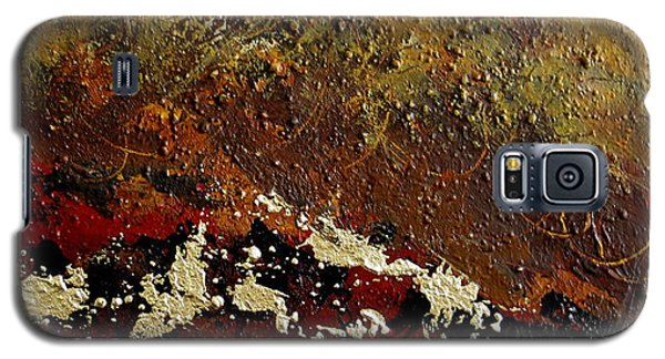 Galaxy S5 Case featuring the painting Earth Abstract Four by Lance Headlee
