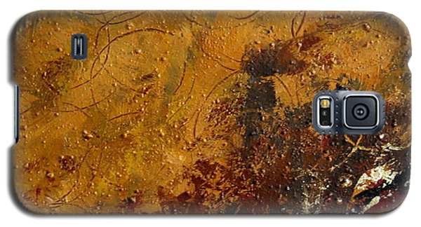 Galaxy S5 Case featuring the painting Earth Abstract Two by Lance Headlee