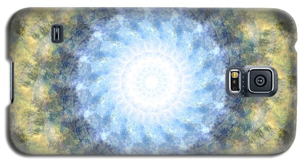 Earth And Sky Mandala Kaleidoscope Galaxy S5 Case