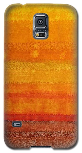 Earth And Sky Original Painting Galaxy S5 Case
