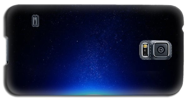 Earth At Night With City Lights Galaxy S5 Case