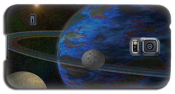 Earth-like Galaxy S5 Case