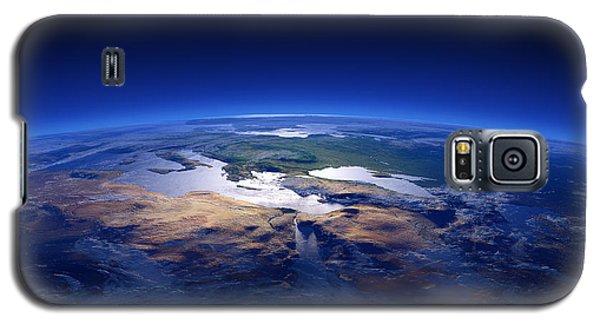 Earth - Mediterranean Countries Galaxy S5 Case by Johan Swanepoel