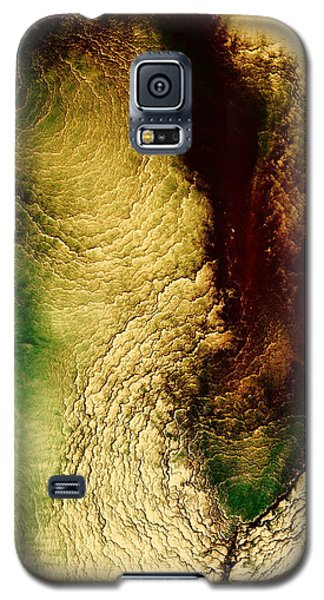 Earth Tones Abstract Art Depths Of The Grand Canyon  Galaxy S5 Case