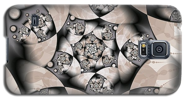 Galaxy S5 Case featuring the digital art Earth Tones by Gabiw Art