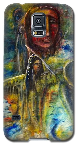 Earth Woman 2 Galaxy S5 Case by Kicking Bear  Productions