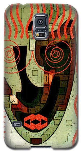 Earthy Woman Galaxy S5 Case