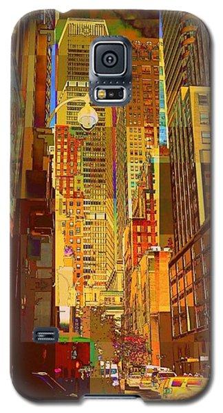 East 45th Street - New York City Galaxy S5 Case
