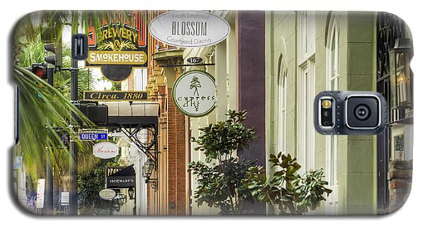 East Bay Street Charleston Sc Galaxy S5 Case