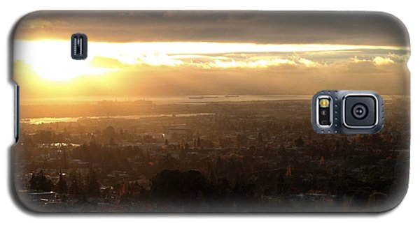 East Bay Sunset Galaxy S5 Case by Lennie Green