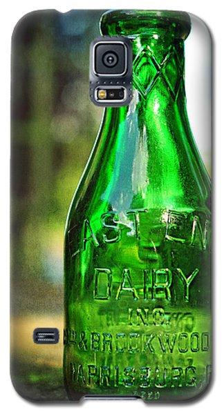 East End Dairy Green Milk Bottle Galaxy S5 Case